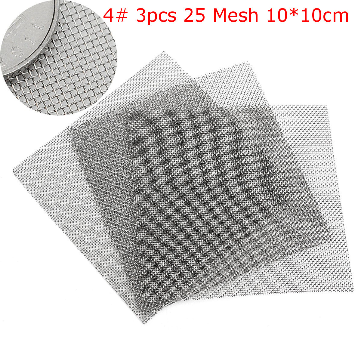 2 to 100 Mesh Woven Wire 304 Stainless Steel Filtration Grill Sheet ...