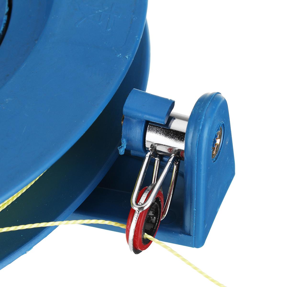 Blau Leinenspule Storm Kite Einleiner Drachenspule Wickler Haspel 100M String