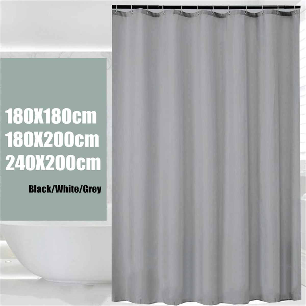 Waterproof Polyester Fabric Shower