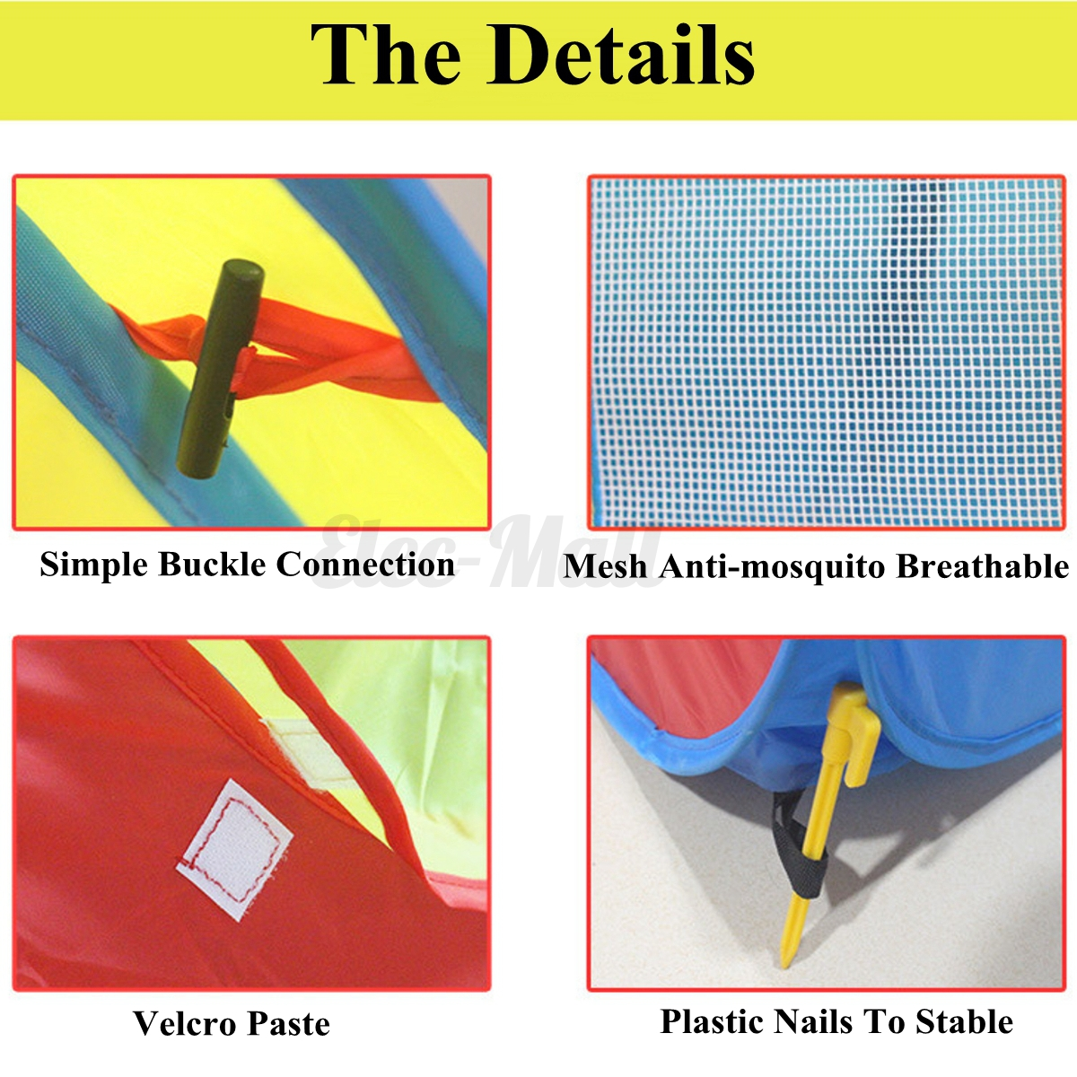 8-In-1 Portable Portable Portable Large Kid Play Tent Crawl 4 Tunnel Adventure Outdoor Indoor Ball a487a1