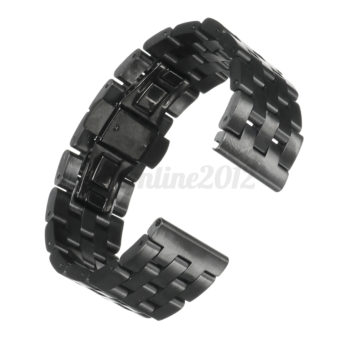22mm replacement metal wristband watch band strap bracelet for samsung gear s3 ebay. Black Bedroom Furniture Sets. Home Design Ideas