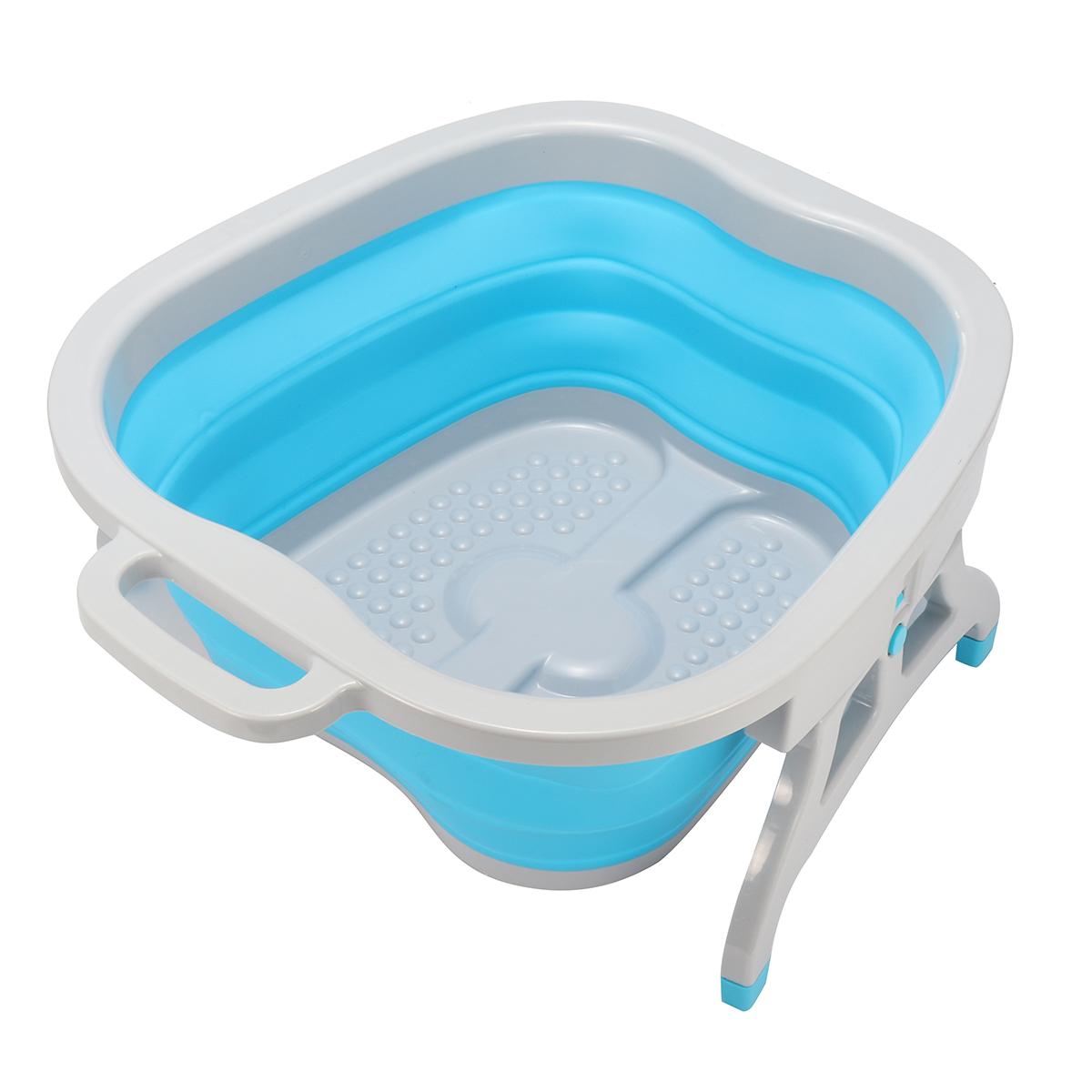Foot Soaking Bucket Spa Bath Massage Roller Relaxing Soothing Soak ...