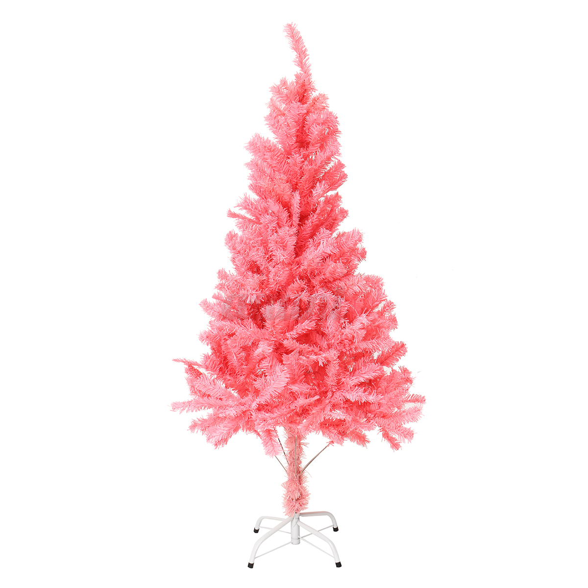 5FT White Green Pink Christmas Tree Xmas Holiday Seasonal Decoration ...