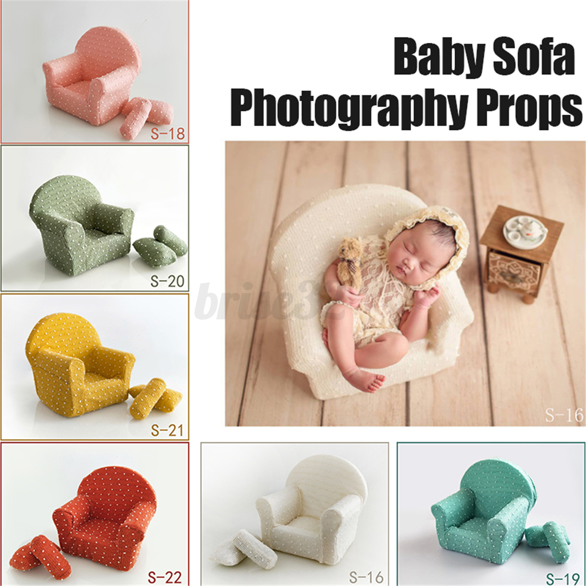 Image Is Loading Newborn Baby Sofa Chair Photography Prop Photo Studio