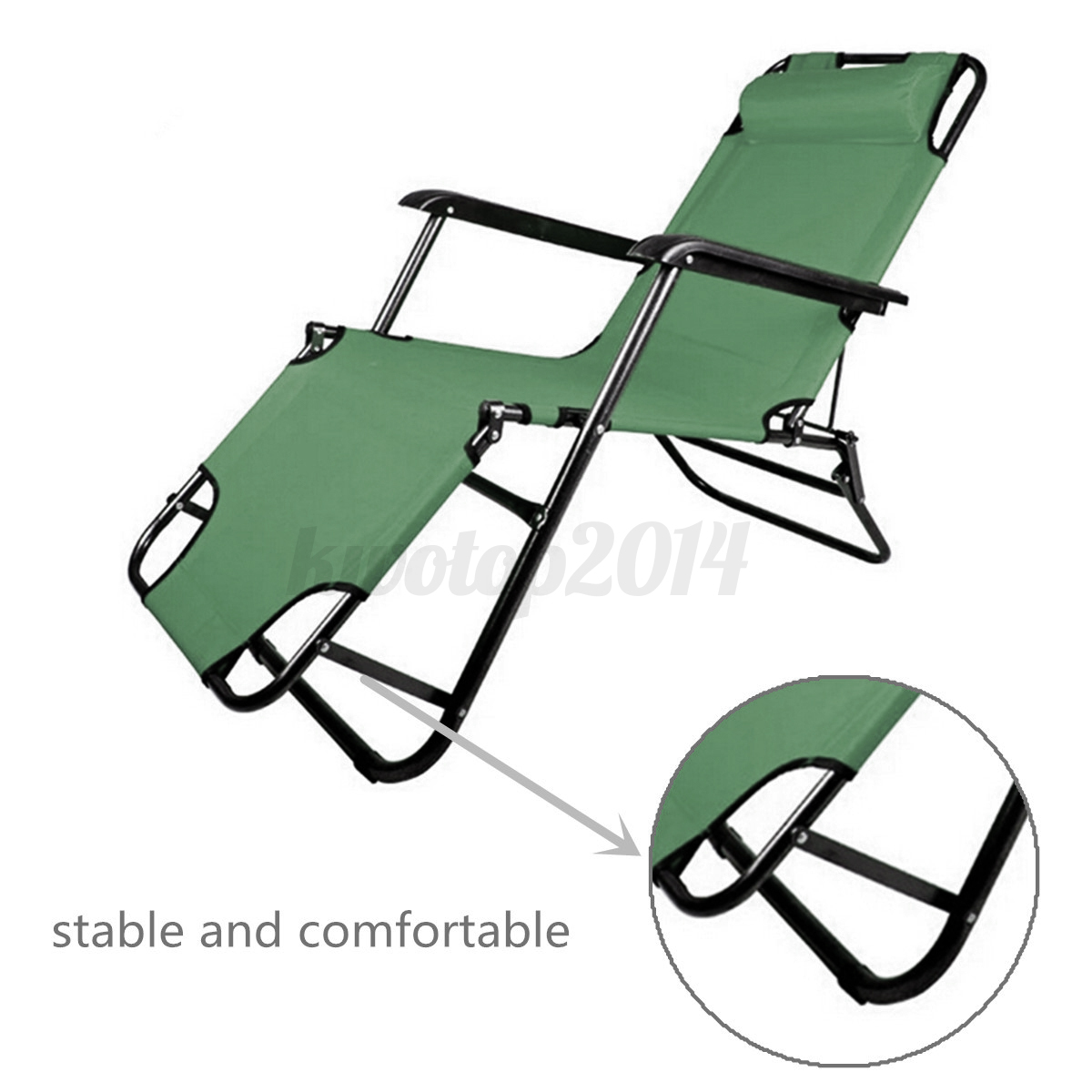 Us metal folding chaise lounge patio chair outdoor pool for 3 in 1 beach chaise lounge
