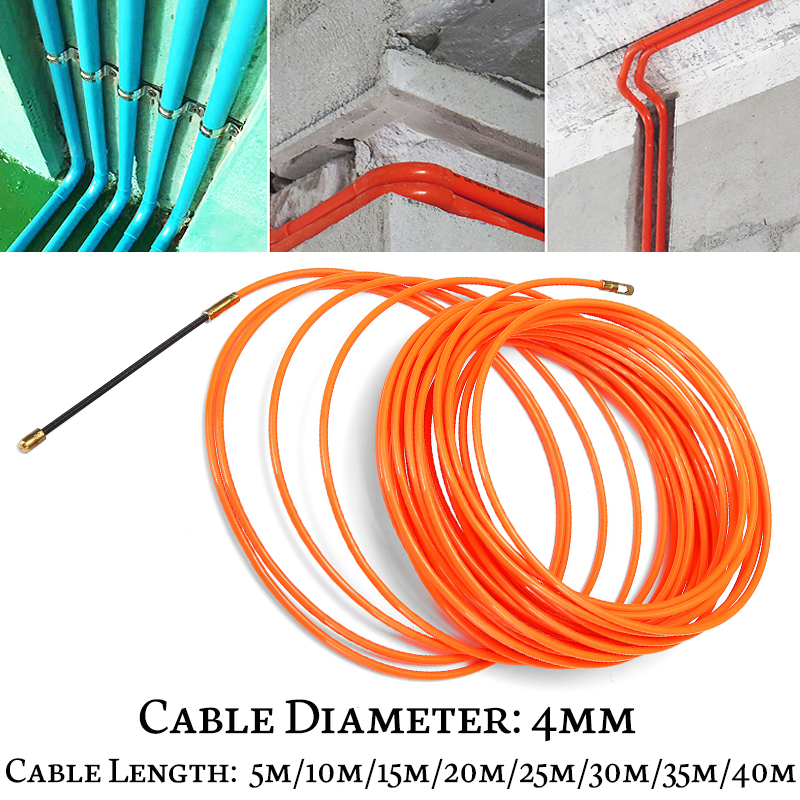 4mm Flexible Electrician Cable Push Puller Rodder Conduit
