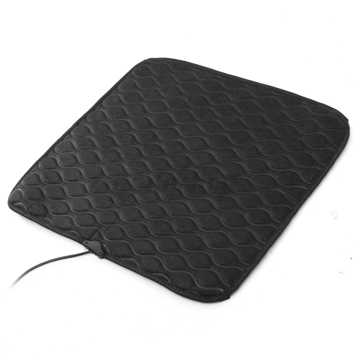 12v 50cm electric car seat heated seat cushion heater pad switch carbon fiber ebay. Black Bedroom Furniture Sets. Home Design Ideas