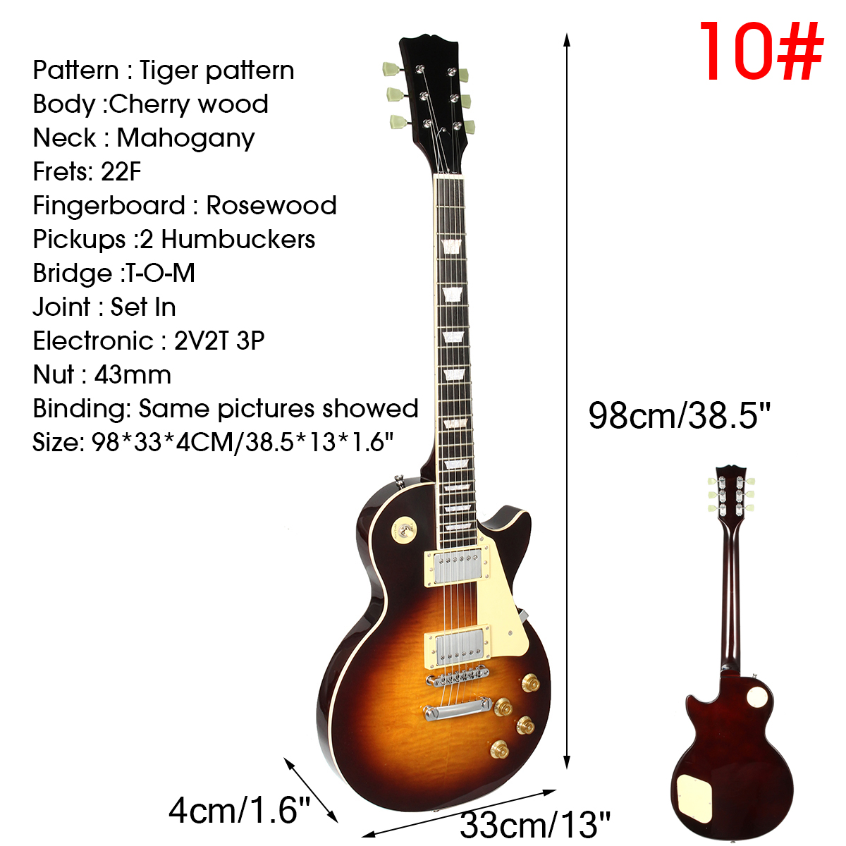 16-Types-1959-LP-Standard-Electric-Guitar-with-Wrench-Different-Wood-Body-Neck
