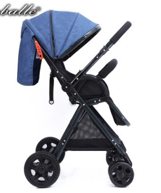 4-in-1-Baby-Stroller-Pram-amp-Bassinet-Newborn-jogger-Folding-Pushchair-Travel-2018