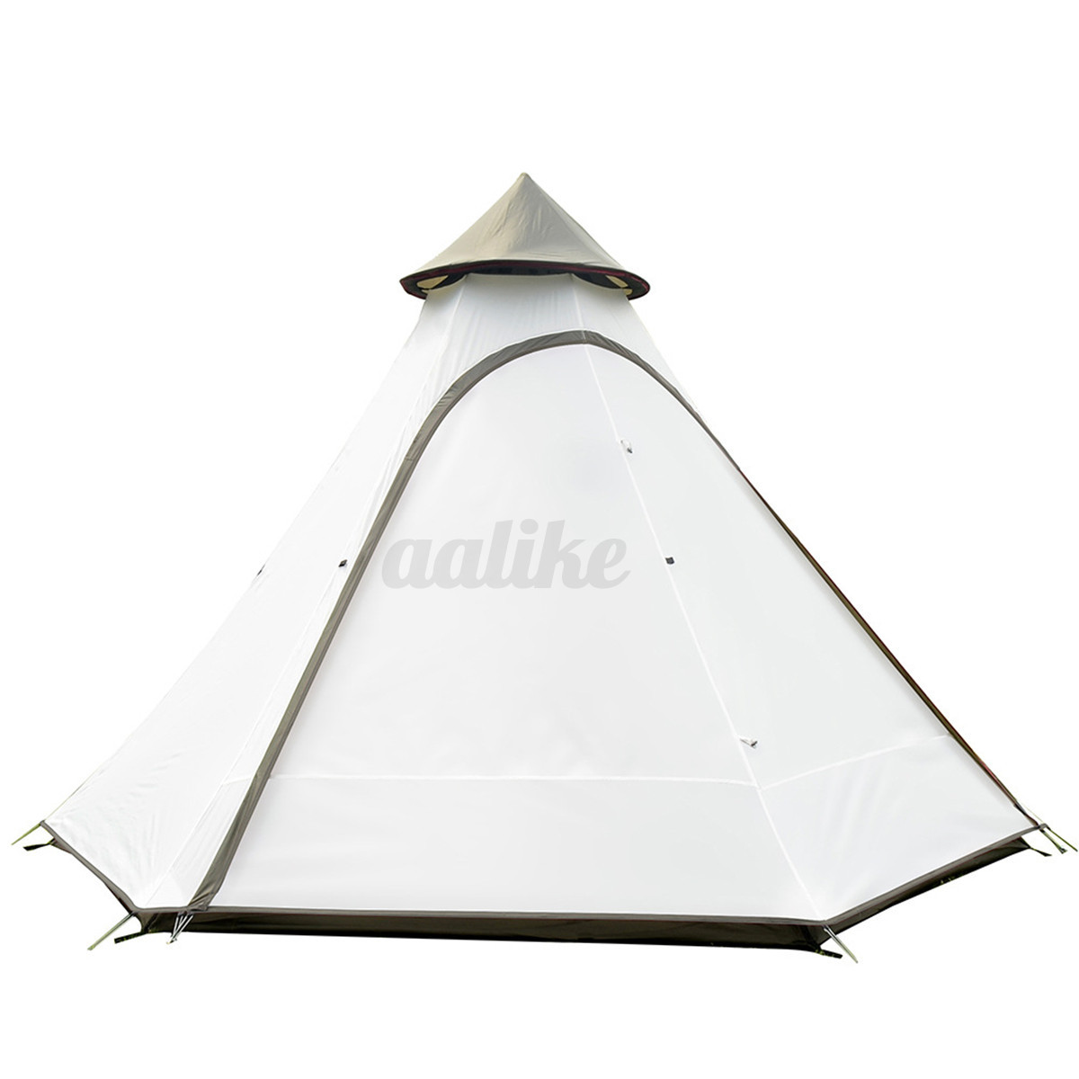380-330-240CM-Large-Waterproof-Double-Layer-Family-Tent-Teepee-Camping-Outdoor thumbnail 14