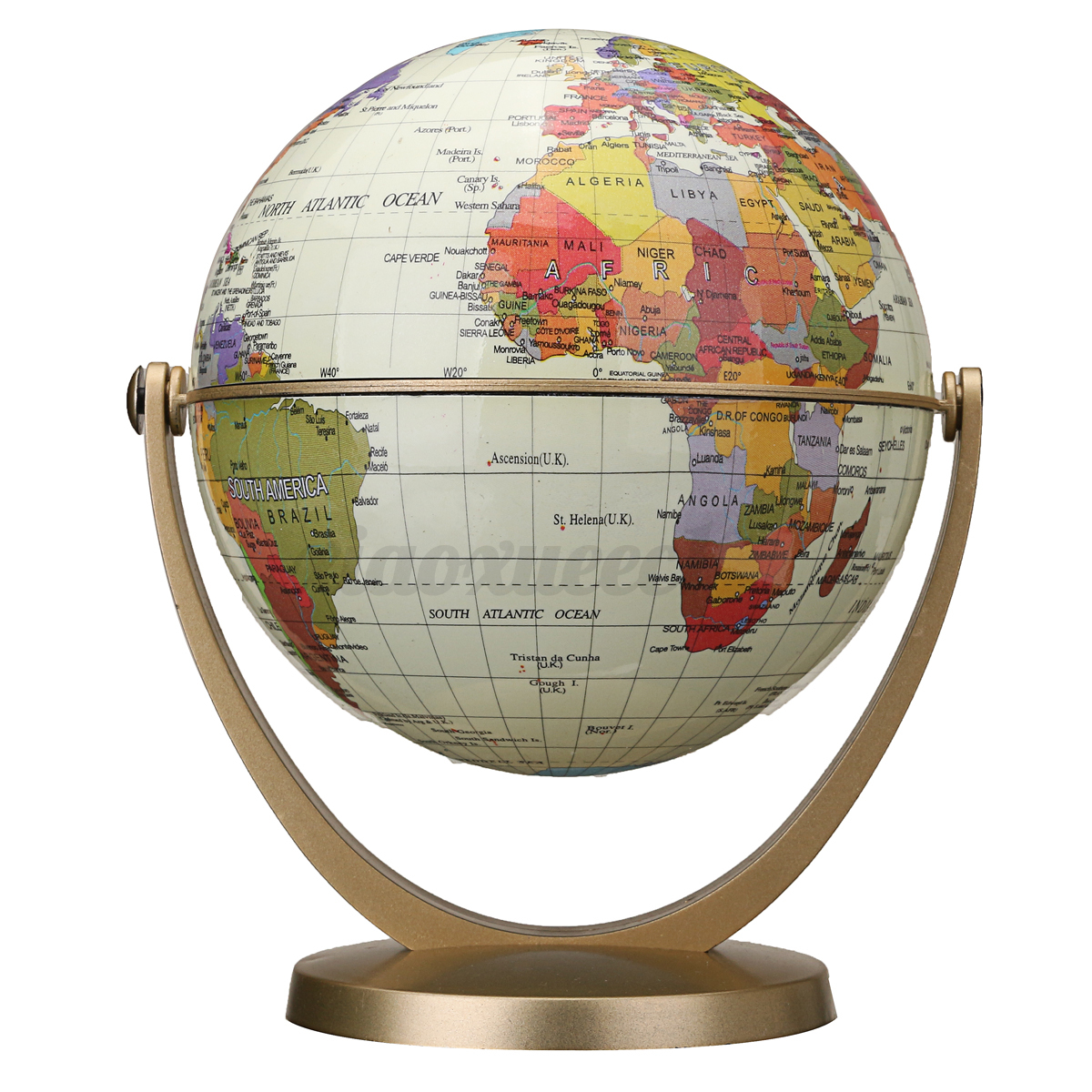 Usa world globe earth ocean map w rotating stand geography u s a world globe earth ocean map w rotating gumiabroncs Images