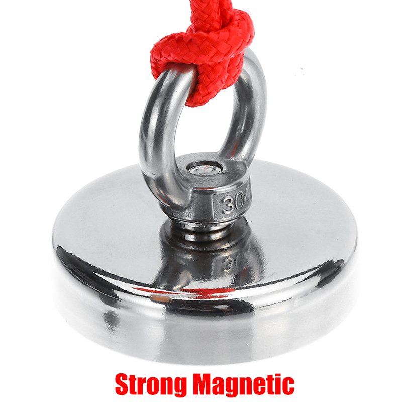 20//30M Pull Rope 23-600KG Recovery Magnet Fishing Treasure Hunting Neodymium