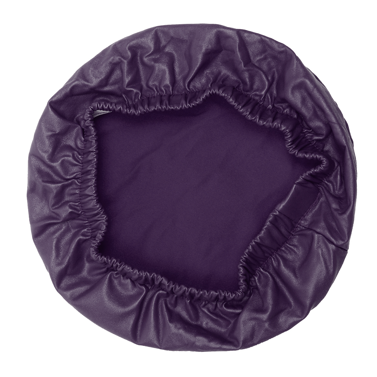 Round-Chair-Cover-Elastic-Leather-Dustproof-Bar-Stool-Seat-Slipcover-Protective thumbnail 16