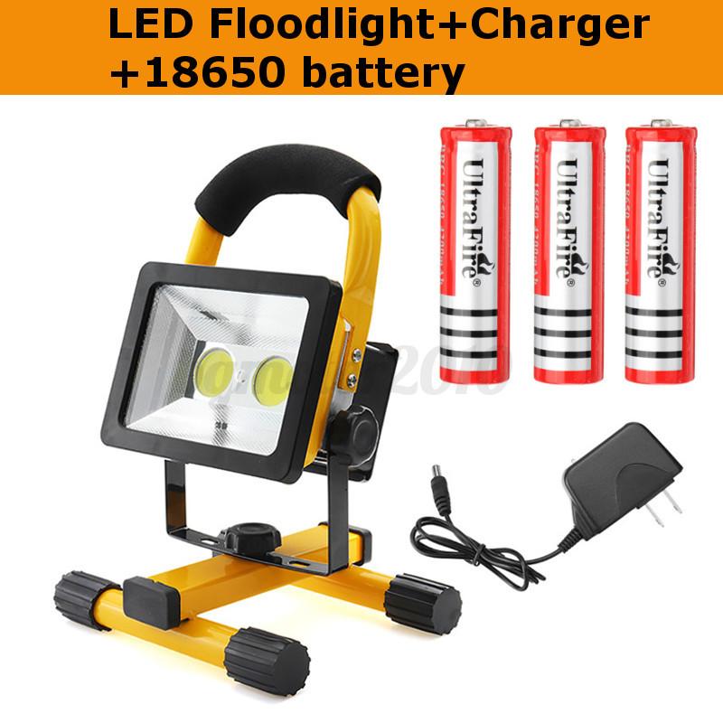 30W-LED-Projecteur-2-COB-Flood-Eclairage-Portable-Rechargeable-Exterieur-Camping