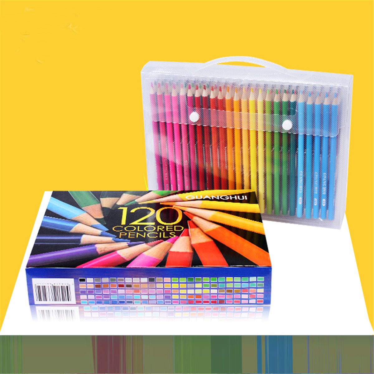 Art 120/136/160 Colored Pencils Set Artist Painting for Adult Kids ...