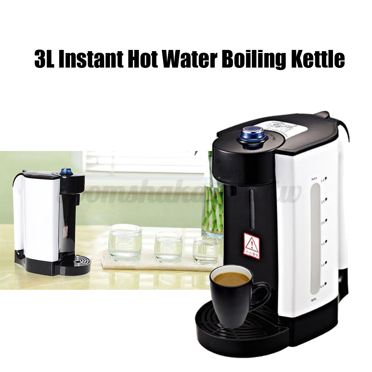 3L Instant Electric Heating Hot water Boiler URN Tea Coffee Maker Dispenser eBay