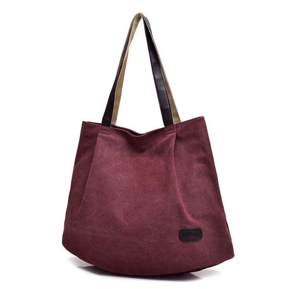 Women Canvas Handbag Shoulder Bag CrossBody Bags Tote Messenger Satchel Large