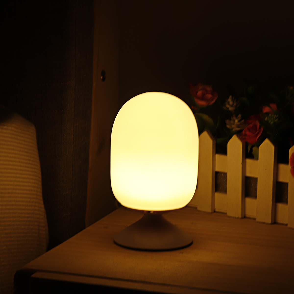 Led Usb Kids Child Safety Table Lamp