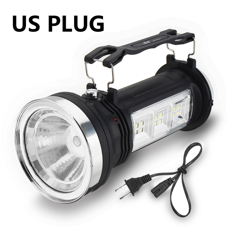 Solar-Power-Rechargeable-LED-Flashlight-Outdoor-Camping-Tent-Light-Lantern-Lamp