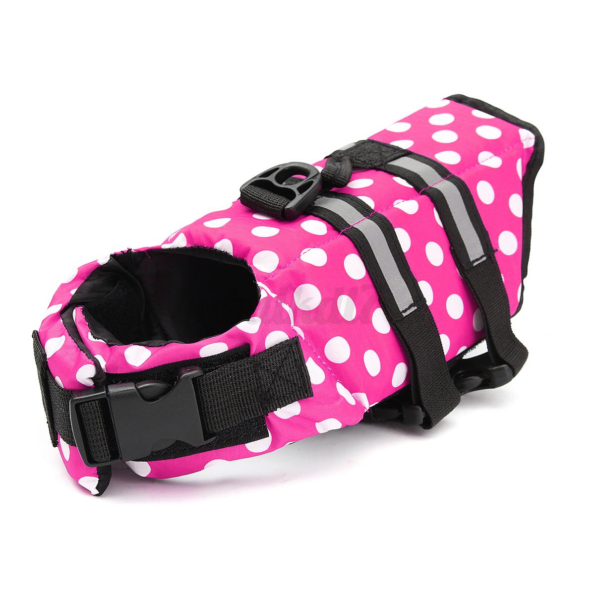 Dog-Life-Jacket-Safty-Pet-Floating-Vest-Swimming-Preserver-Float-Saver-Coat-XXL