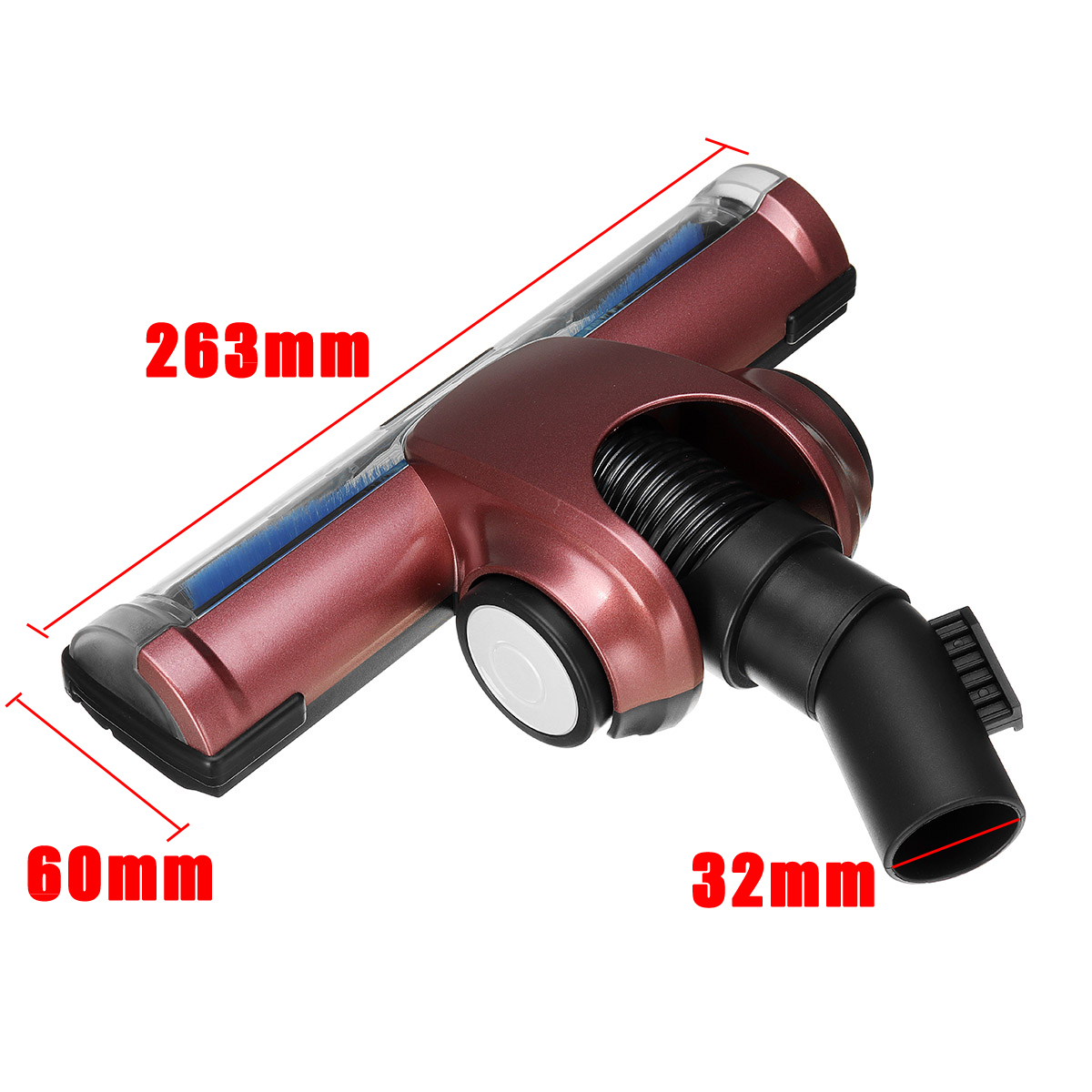 32mm Turbine Floor Cleaner Head Vacuum Brush For Dyson