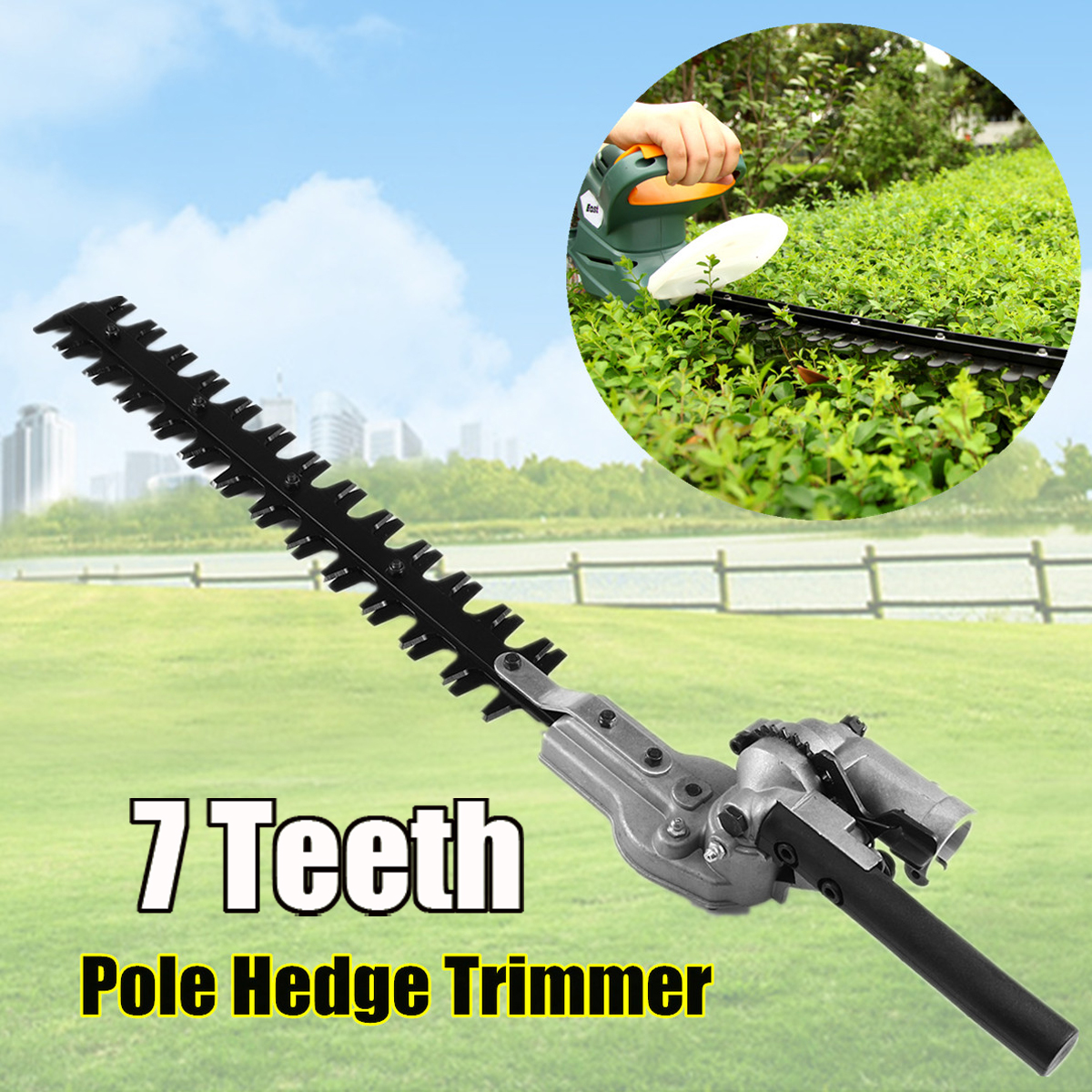 26mm-7-9Teeth-Hedge-Trimmer-Head-Pole-Chainsaw-Brush-Cutter-Replacement-Parts
