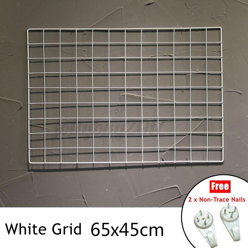 65x45cm Metal Wandgitter Bilder Rahmen Halter Dekogitter Gitter mit ...