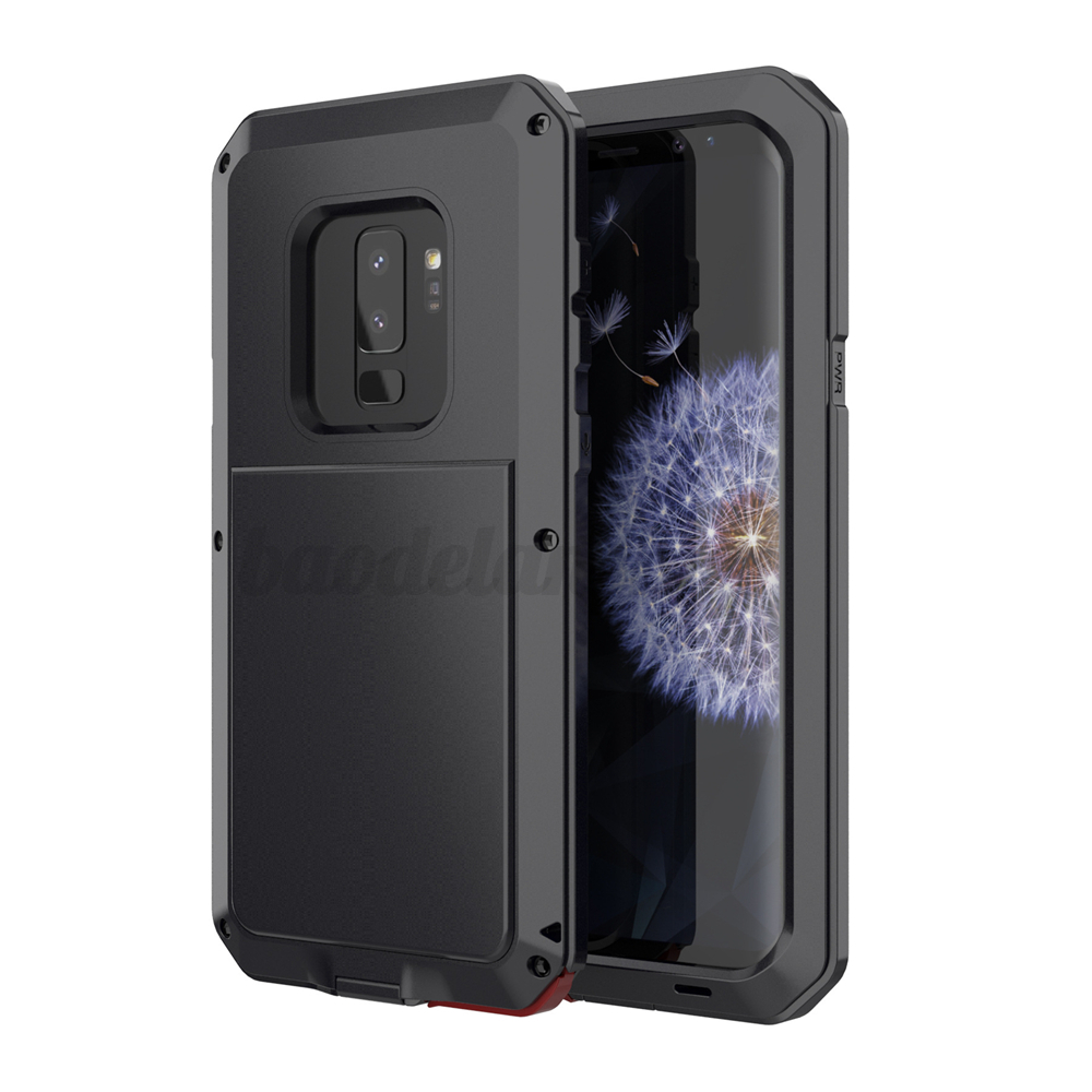 Outdoor-Etanche-Housse-Etui-Coque-Aluminium-Metal-Antichoc-Pr-Samsung-Galaxy-S9 miniature 8