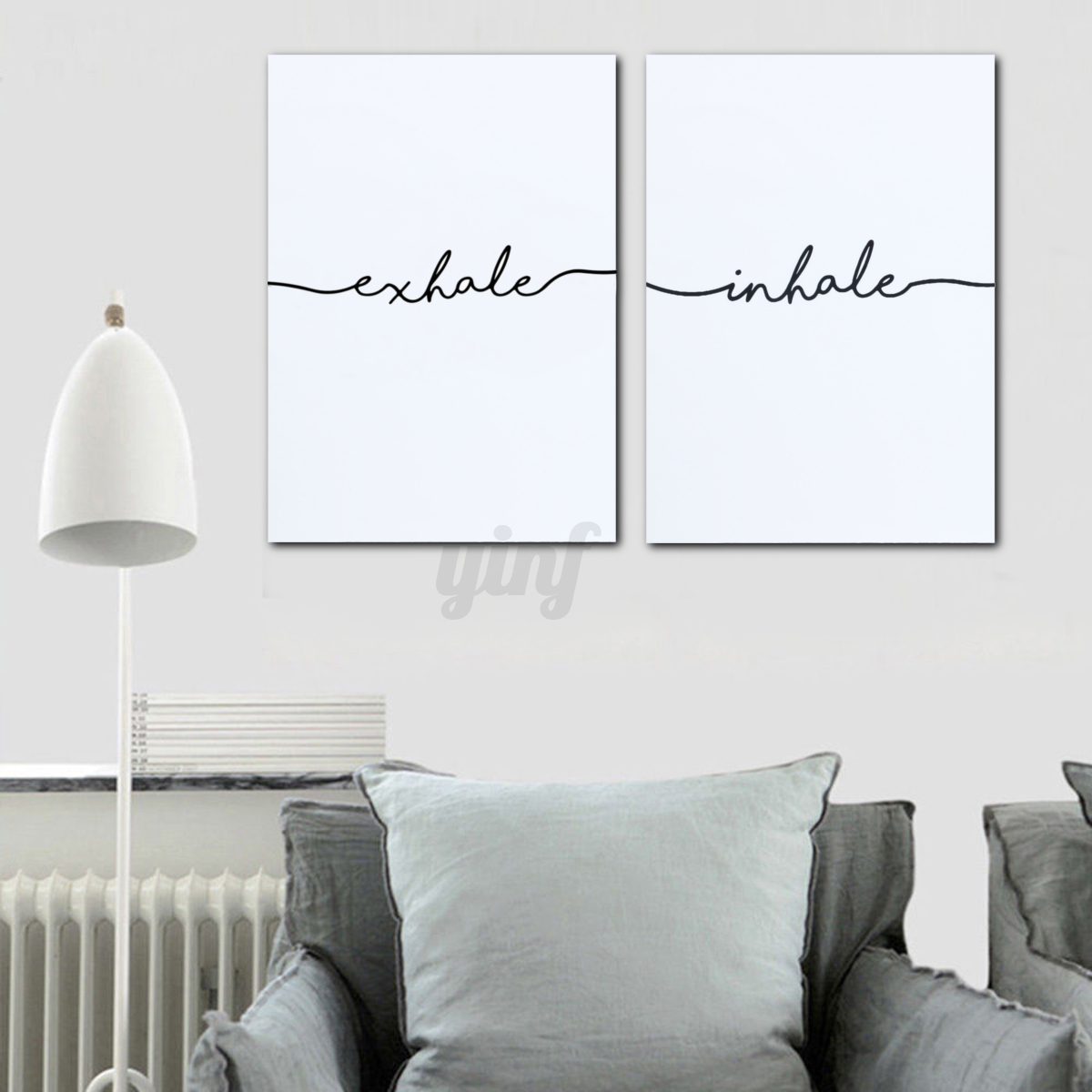 Elegant Image Is Loading Nordic Abstract Minimalist Canvas Poster Home Wall Art