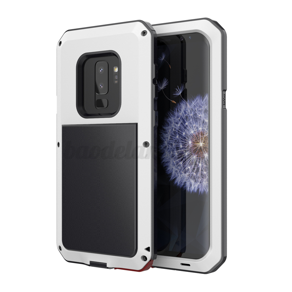 Outdoor-Etanche-Housse-Etui-Coque-Aluminium-Metal-Antichoc-Pr-Samsung-Galaxy-S9 miniature 9