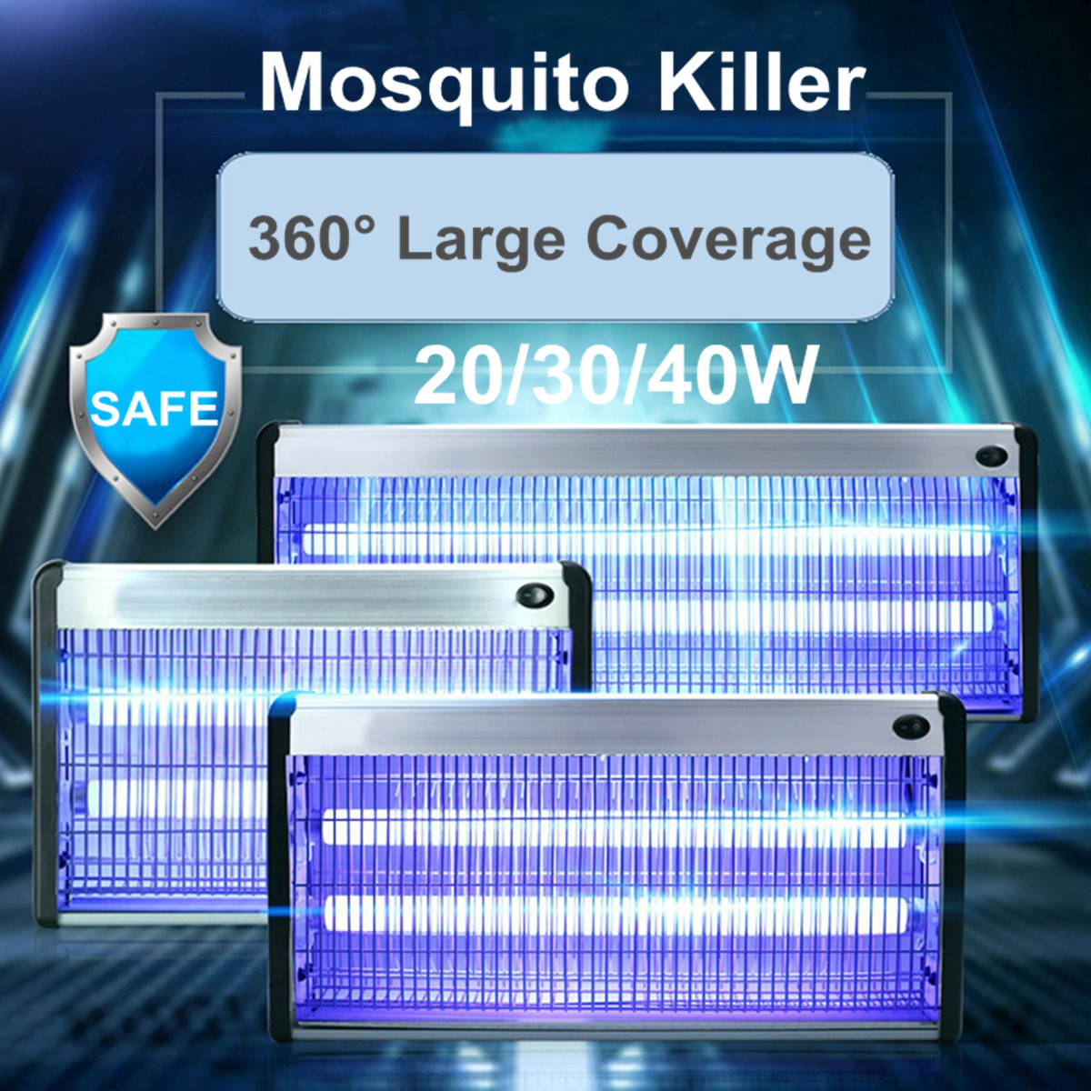 20 30 40w Electric Insect Killer Uv A Mosquito Pest Fly