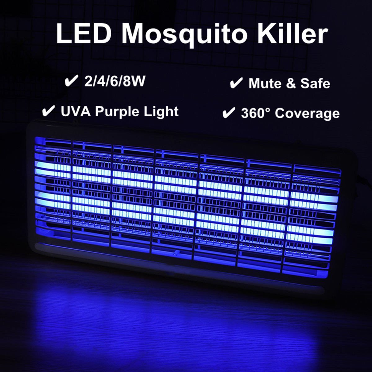 20//30//40W Electric Insect Killer UV-A Mosquito Pest Fly Bug Zapper Catcher