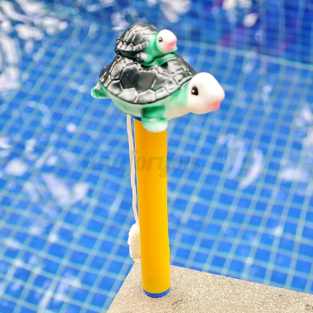 GOLDFISH ANIMAL WATER Swimming Pool Spa Floating Thermometer -20~120 ...