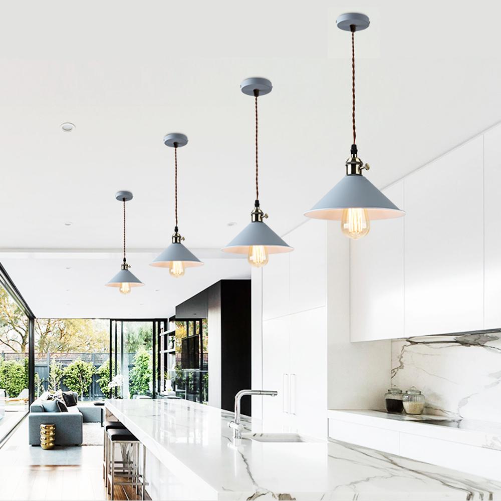 hoomi lustre suspendu plafonnier lampe suspension r tro industriel moderne e27 ebay. Black Bedroom Furniture Sets. Home Design Ideas