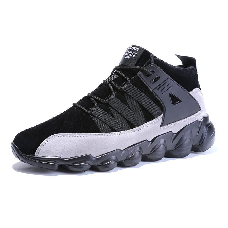 Scarpe da Ginnastica da Basket per Uomo traspirante antiscivol Sneaker Shoes uMKnjvTi