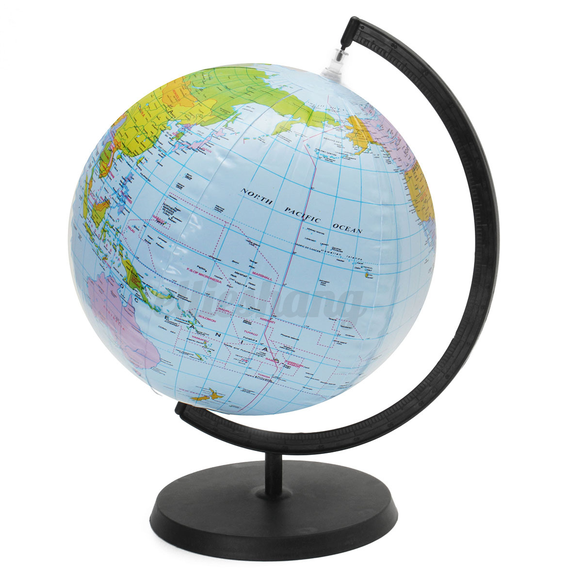 30cm inflatable world globe earth teaching geography map
