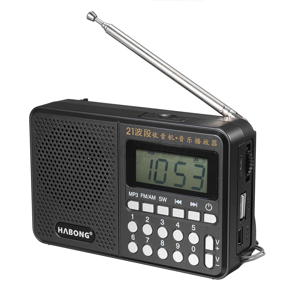 portable pocket radio handheld am fm sw digital mp3 player. Black Bedroom Furniture Sets. Home Design Ideas