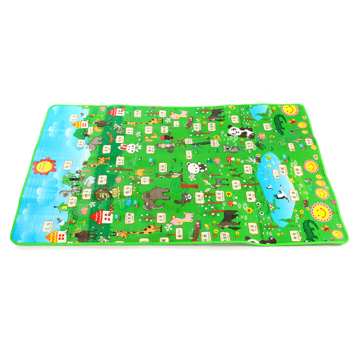 mat toddler soft mats baby kid type safety itm carpet sided double playmat crawl play game