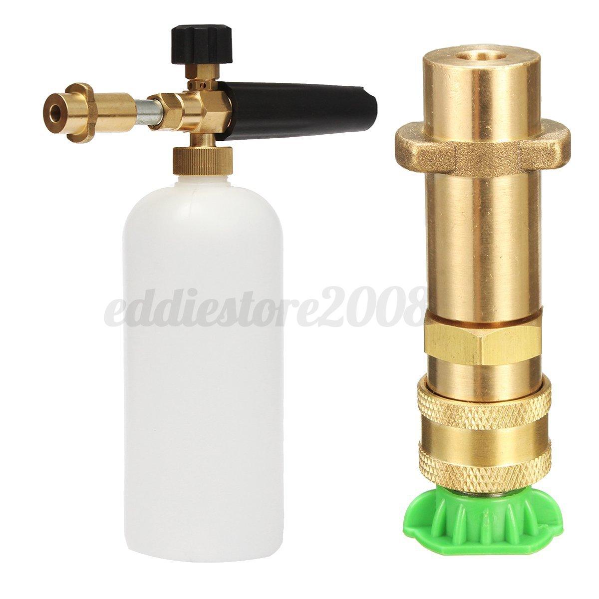 Pressure washer spray snow foam lance gun jet nozzle tips