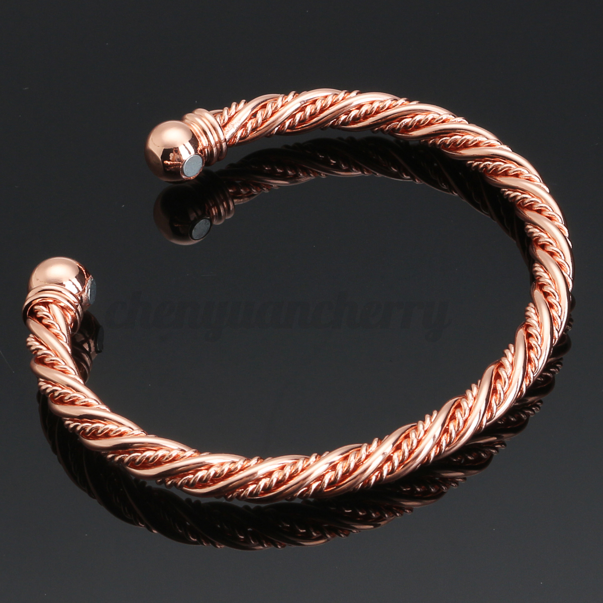 Unisex-Copper-Magnetic-Bracelet-Therapy-Relief-Arthritis-Pain-Healing-Bangle