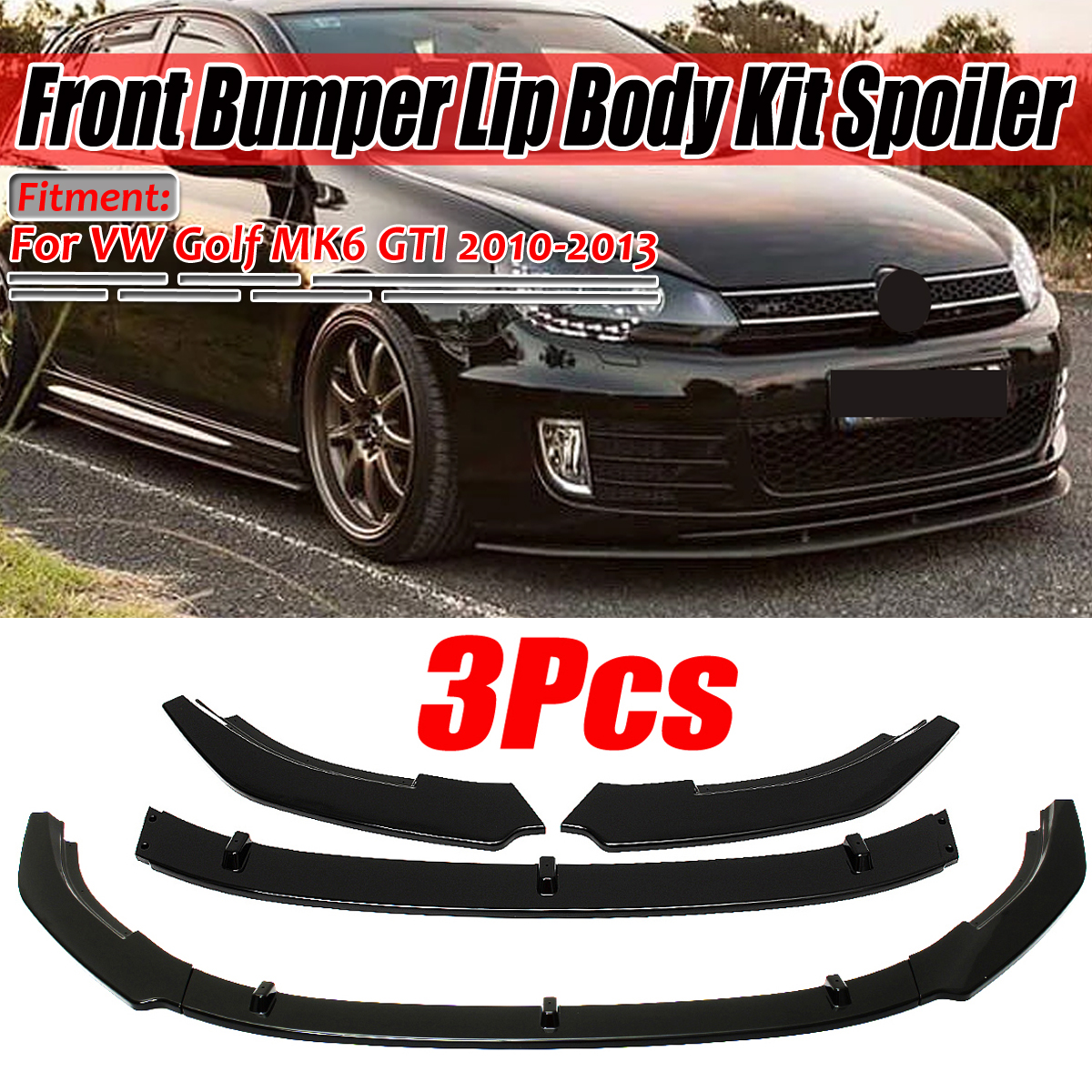 Front Right Side Bumper Lower Grille Grill For Vw Polo Hatch Back Sedan 2010 13 Vehicle Parts Accessories Car Parts