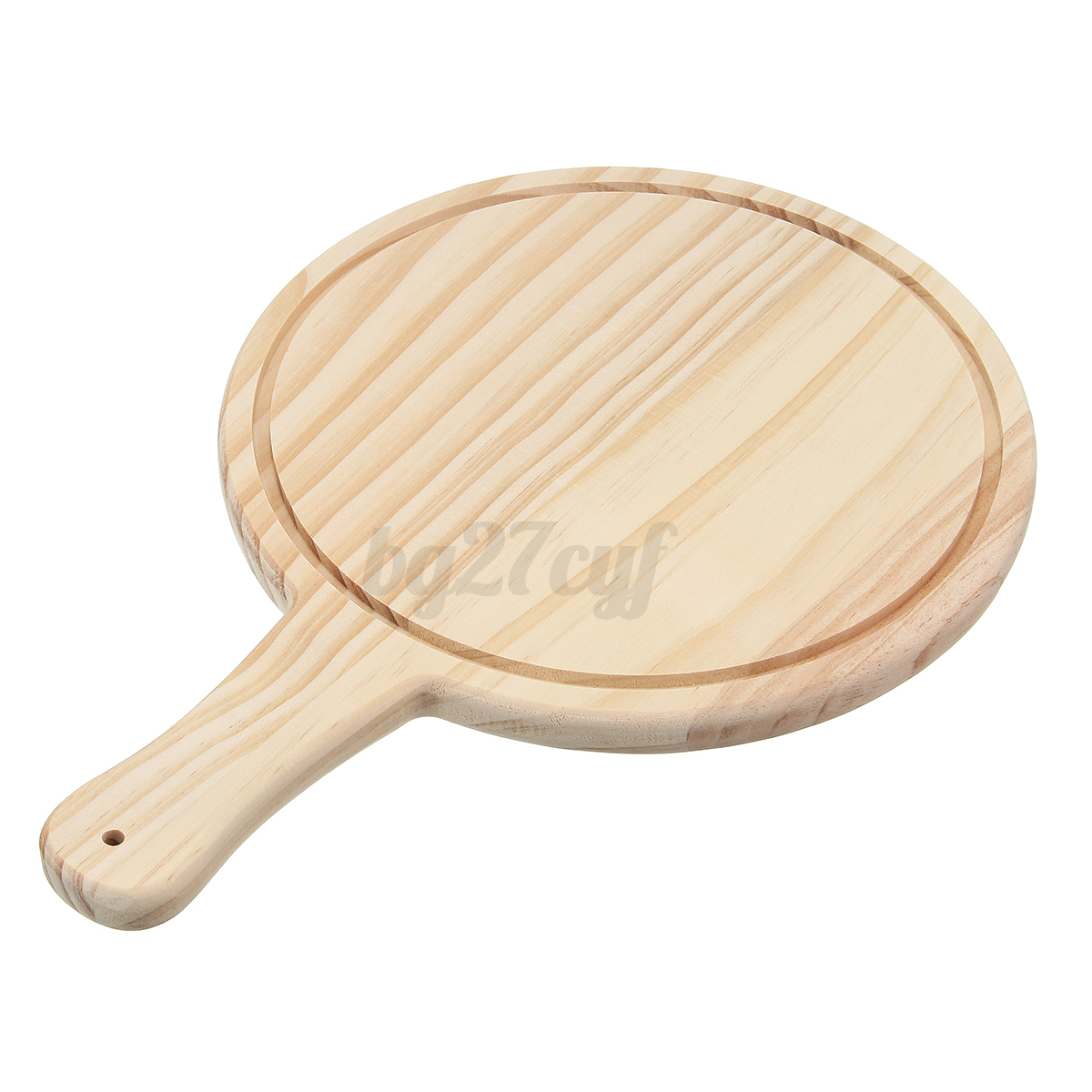 Wooden Paddle Peel Oven Wood Board Plate Pizza Bake