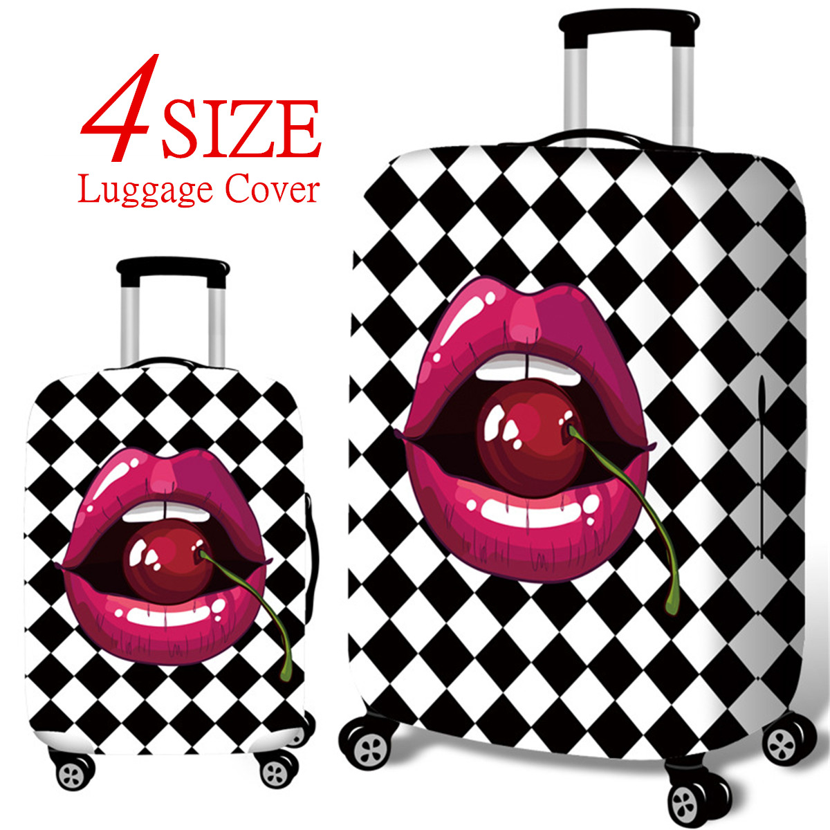 Fashion Luggage Cover Protector for Travel Trolley Case Spandex Protective Bag