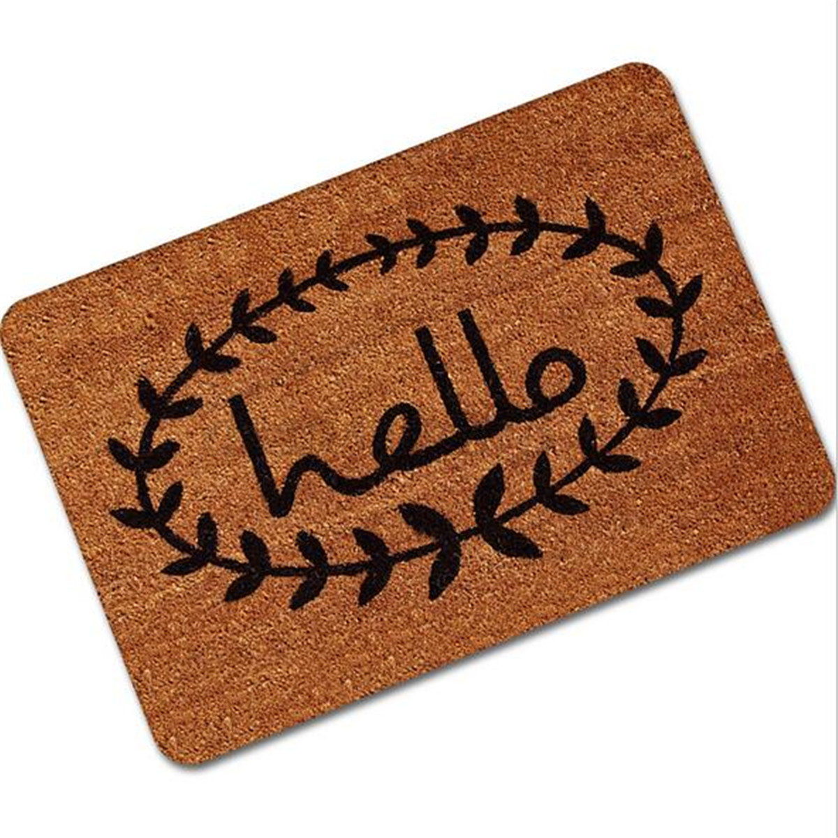 Letter Funny Welcome Home Entrance Floor Rug Non-slip Doormat ...