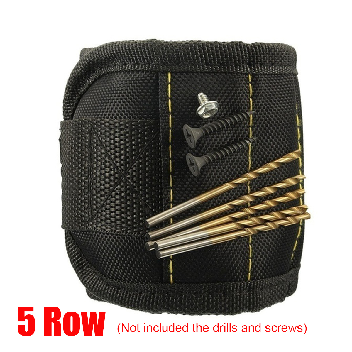 3-5Row-Magnetic-Wrist-Band-Magnet-Strap-Tool-Holder-Belt-Screws-Bolts-Nuts-Nails thumbnail 14