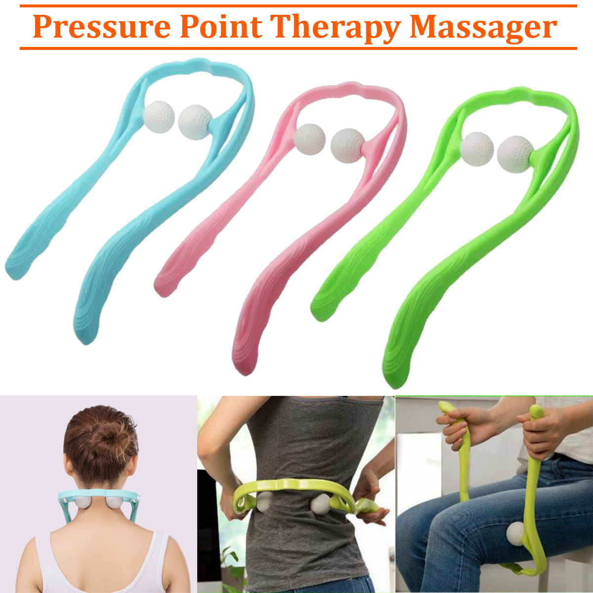Image result for 3 colors neck massager