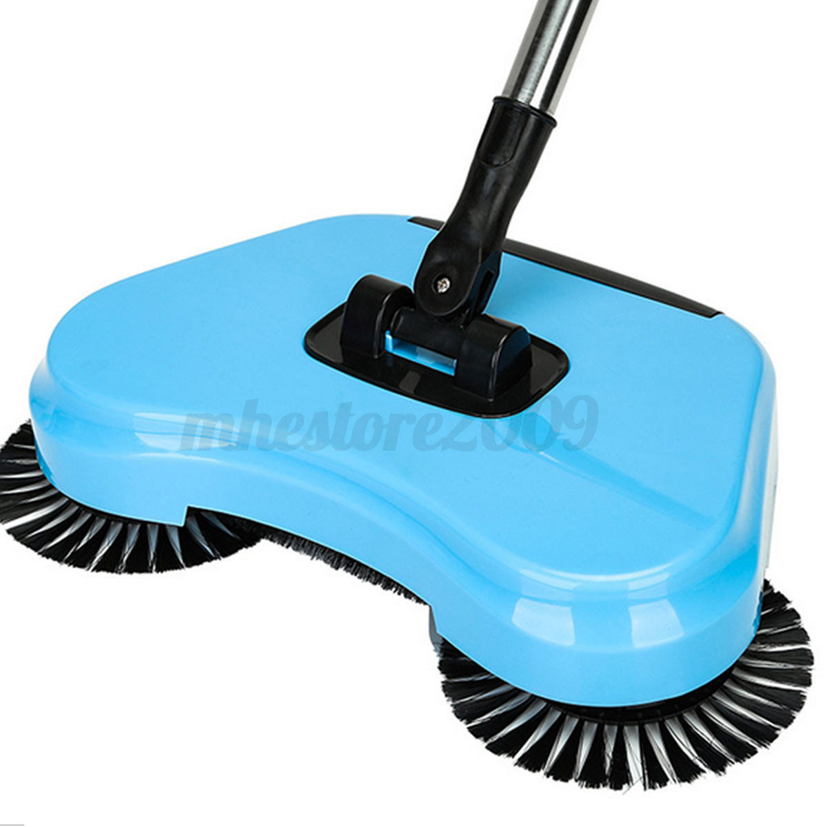 Spin Hand Push Broom Household Floor Dust Cleaning Sweeper