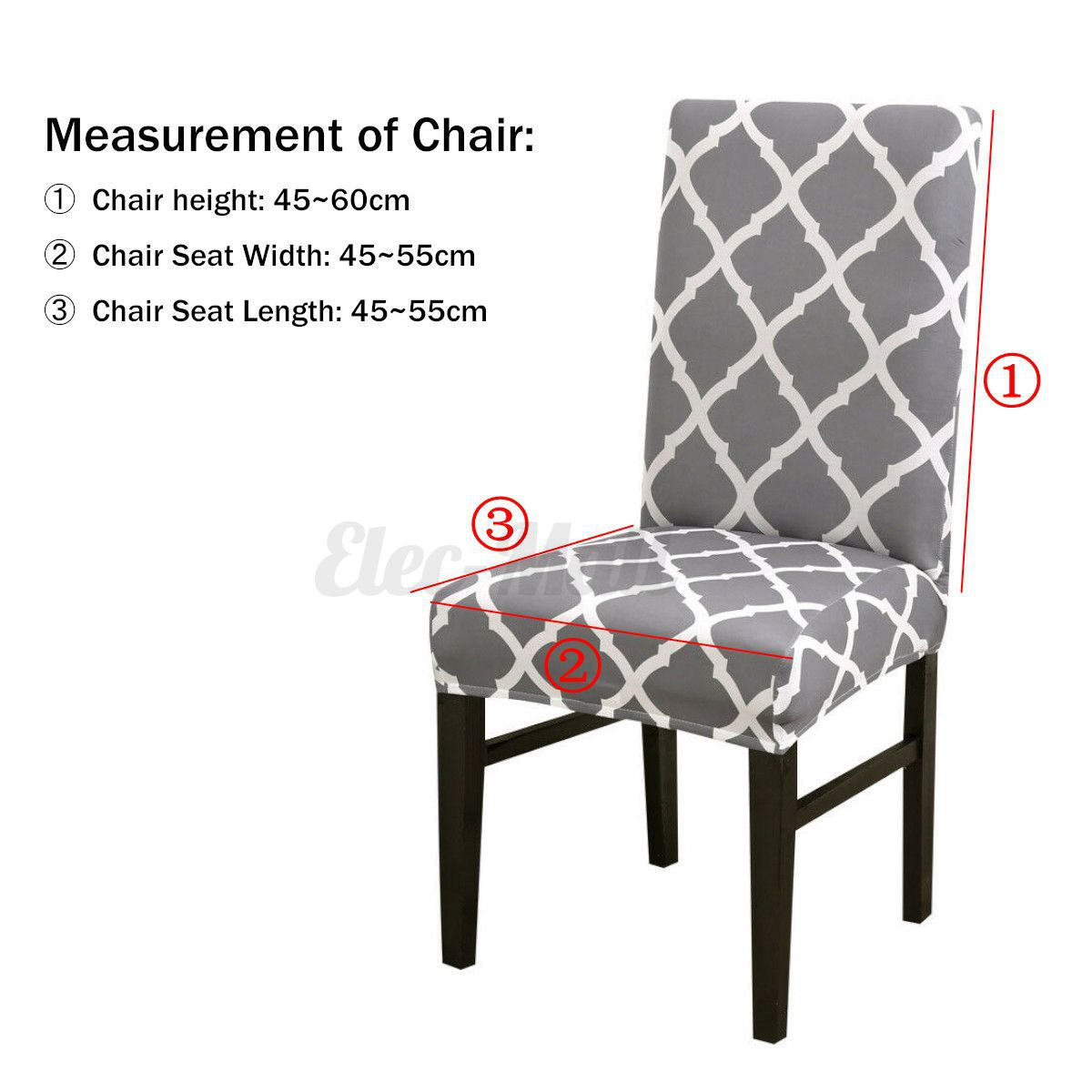 Pleasing Details About Stretch Chair Cover Protect Slipcover Dining Room Wedding Banquet Party Spandex Creativecarmelina Interior Chair Design Creativecarmelinacom