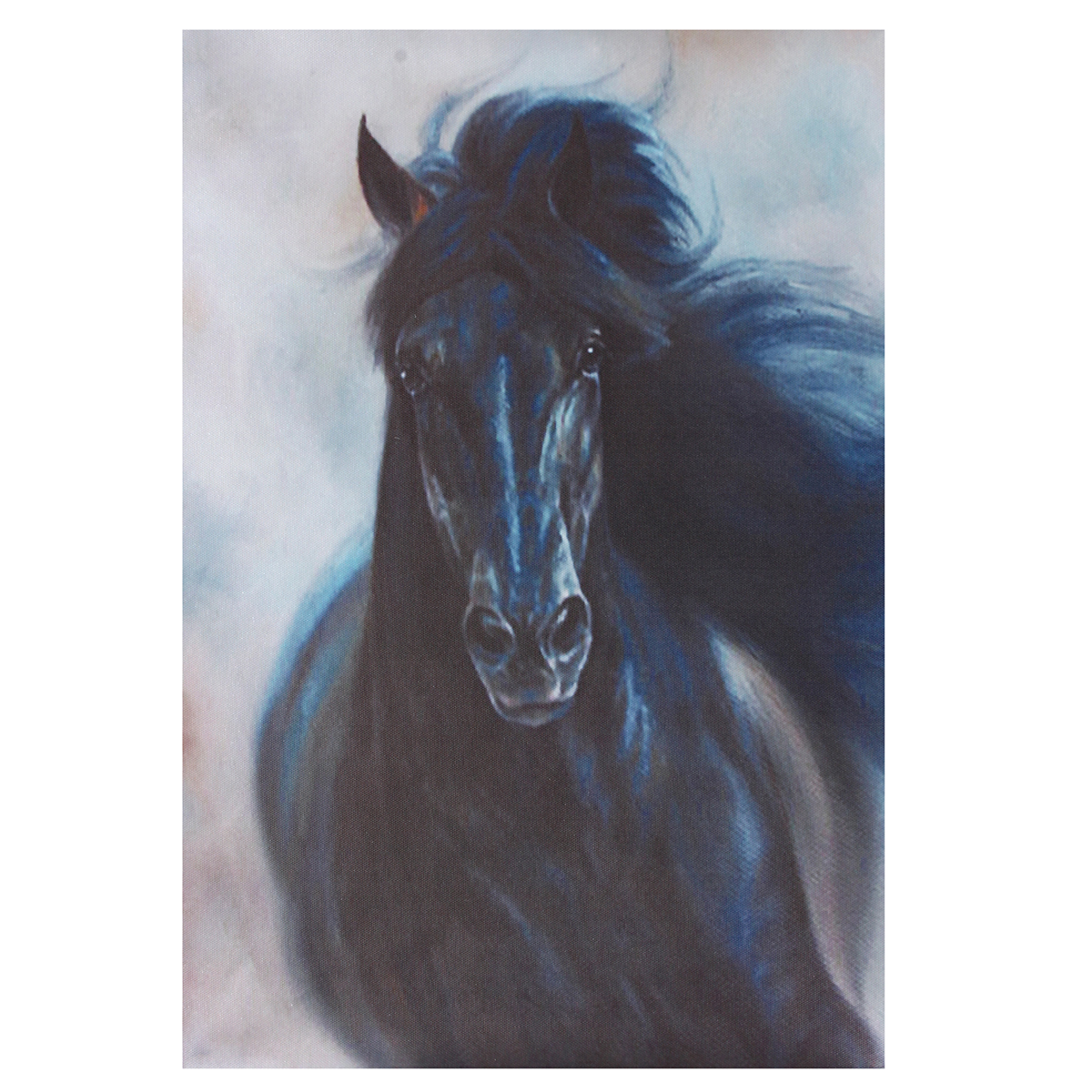 Horse-Oilcolor-Wall-Painting-Canvas-Picture-Art-Print-Unframed-Mural-Home-Decor