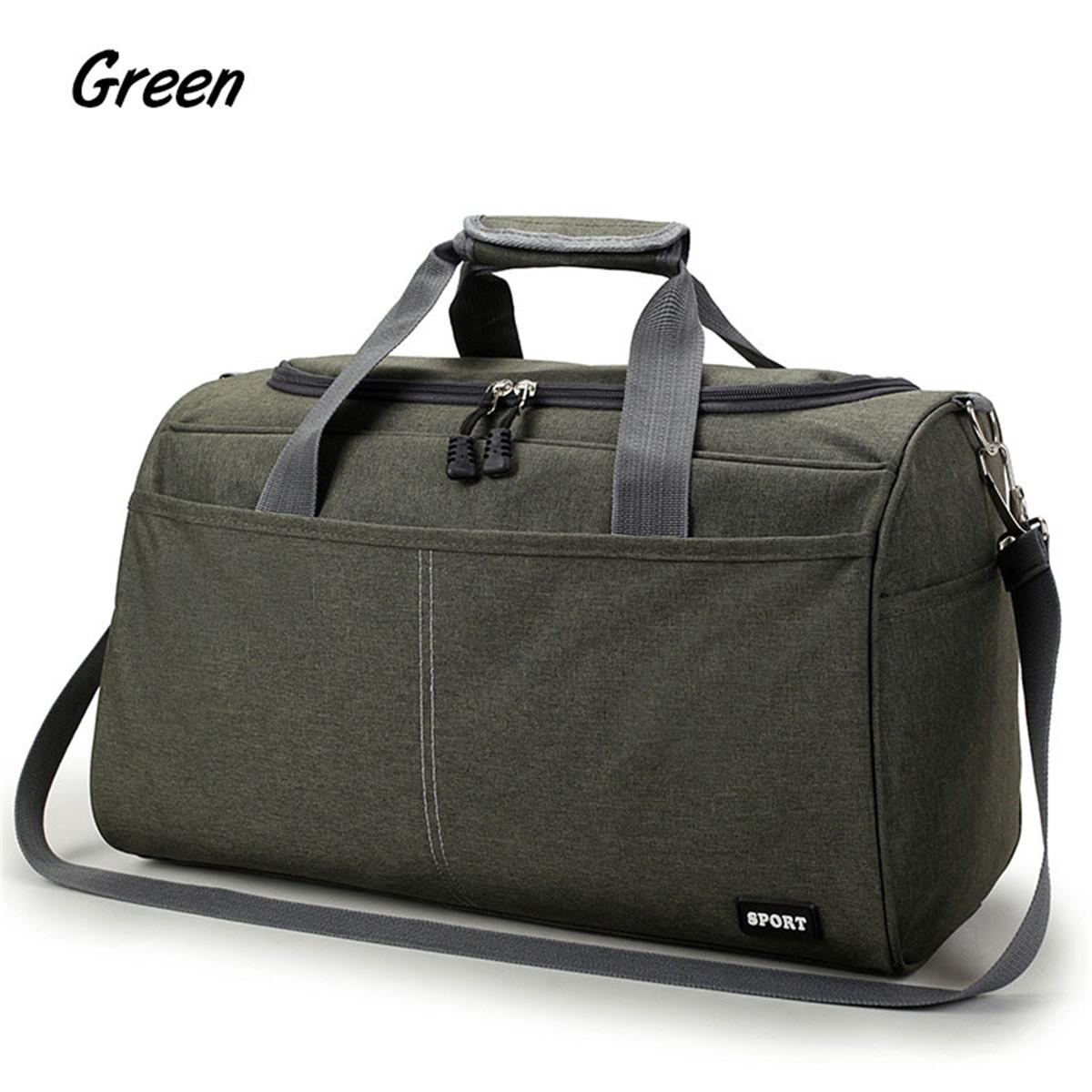 Unisex-Men-Women-Nylon-Travel-Duffel-Weekender-Gym-Sport-Holdall-Luggage-Bag